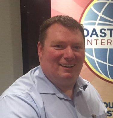 Gareth Coghlan, President D18 Toastmasters